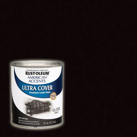 home depot paint winnipeg rust oleum painter s touch 32 oz ultra cover gloss black