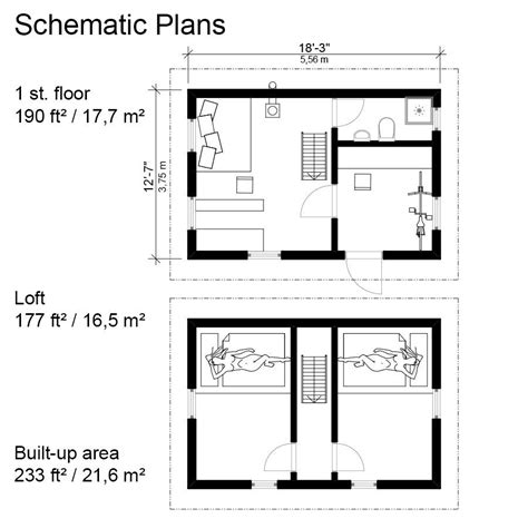 small cabin floorplans small gambrel roof house plans