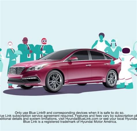Bluelink Hyundai by Hyundai Blue Link Will Fill Your Car With