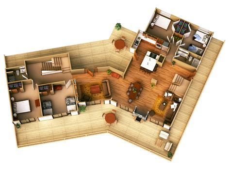 3d house plans free 25 more 3 bedroom 3d floor plans simple free house plan