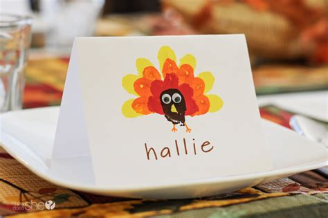 thanksgiving place cards can make crafting with easy thanksgiving place cards