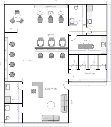 floor plan for hair salon salon floor plan 1 floor plan offices