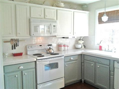 paint kitchen cabinets two colors virginia and the big moment came and went