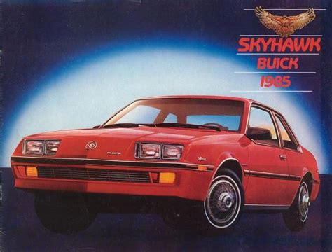 service manual free download parts manuals 1985 buick skyhawk transmission control service