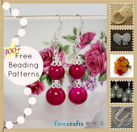 free beading projects 101 free beading patterns favecrafts