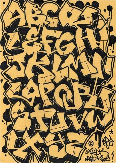 best spray paint font graffitti names letters alphabet paint