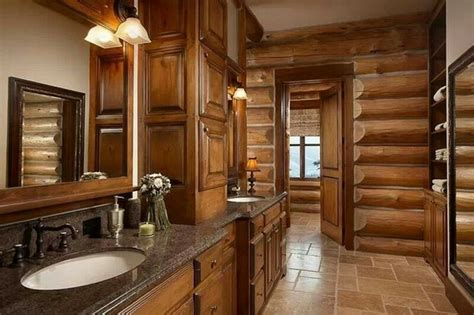 cabin bathroom ideas log cabin interiors beautiful rustic design and