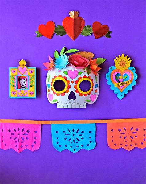 dia de los muertos crafts for day of the dead inspiration jest cafe