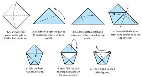 origami paper cup space center houston try this at home