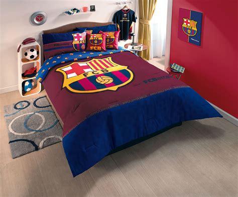 soccer bed sets new fcb club barcelona soccer comforter bedding sheet set