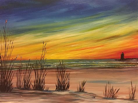 groupon paint nite island ny paint nite east coast sunset