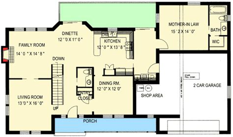 floor plans with in suite traditional home with in suite 35428gh