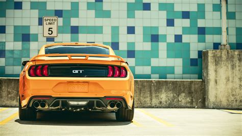 Sports Car 4k Wallpaper by 2018 Ford Mustang Gt Fastback Sports Car 4k 3 Wallpaper