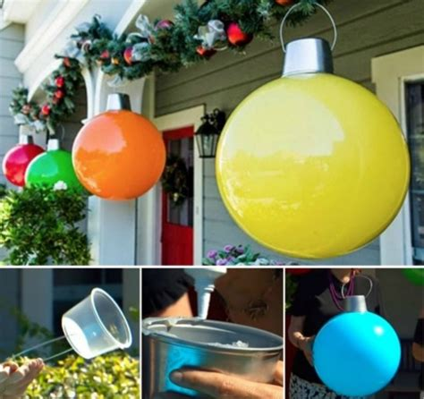 how to make outdoor balls how to make large decorations