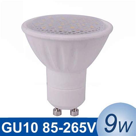 110v led light bulb gu10 led light 9w smd5730 led light bulb 110v 220v lada
