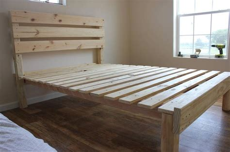 home made bed frame best 25 simple bed frame ideas on build a