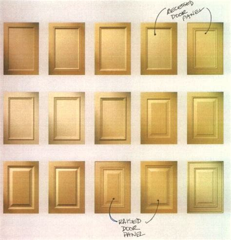 kitchen door styles for cabinets how to choose a kitchen cabinet door style the reno projects