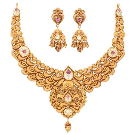 17 best ideas about indian gold jewellery on