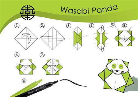 origami panda easy origami tutorial