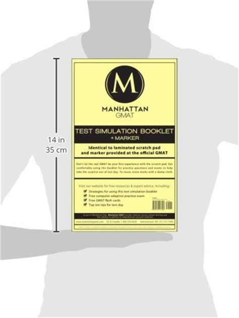 manhattan gmat test simulation booklet w marker manhattan gmat test simulation booklet w marker in the