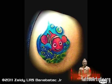 finding nemo tattoos finding nemo tattoo artists org