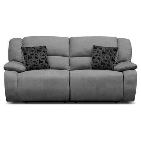 grey sofa recliner 1000 ideas about reclining sofa on craftsman