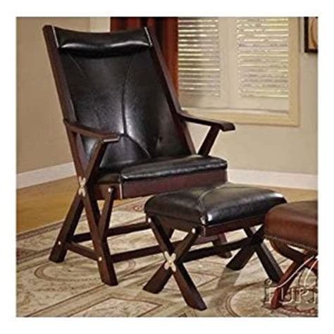 folding living room chair folding chair with ottoman in