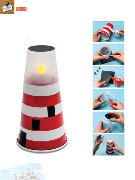 lighthouse craft project mini lighthouse crafts ideas to do with the