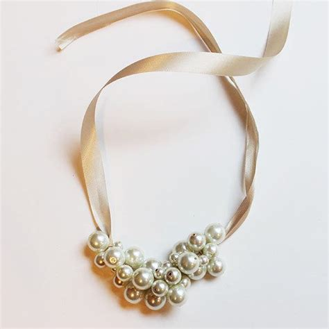 make my own jewelry make your own pearl cluster necklace more