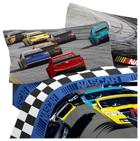 nascar bedding set nascar sheet set race car bump drafting bedding