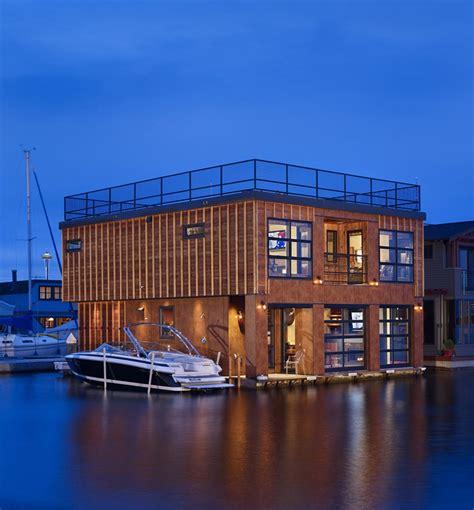 floating houses world of architecture floating homes lake union float