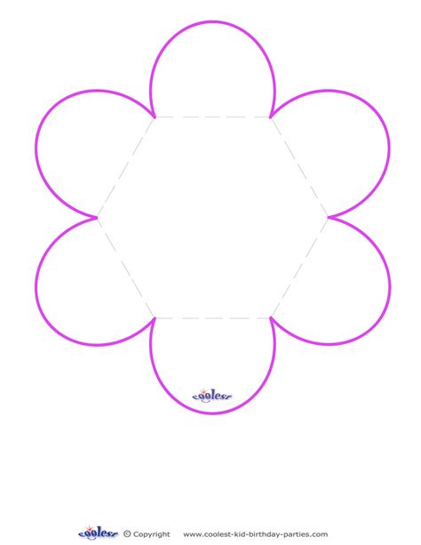 flower templates for card printable flower templates cliparts co