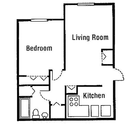 one bedroom house designs plans beautiful simple one bedroom house plans for kitchen