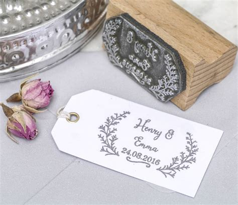 rubber st wedding wedding favour st botanical by st company