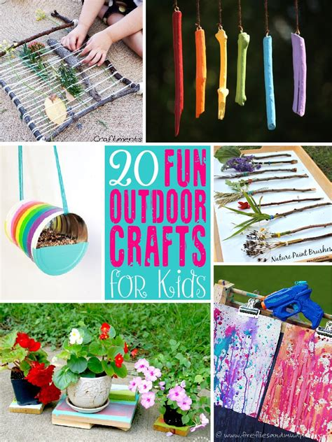 outside crafts for 20 outdoor craft ideas for the scrap shoppe