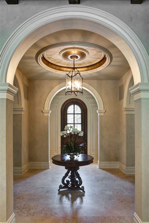 Shabby Chic Kitchen Cabinets baroque foyer chandeliers vogue dc metro mediterranean