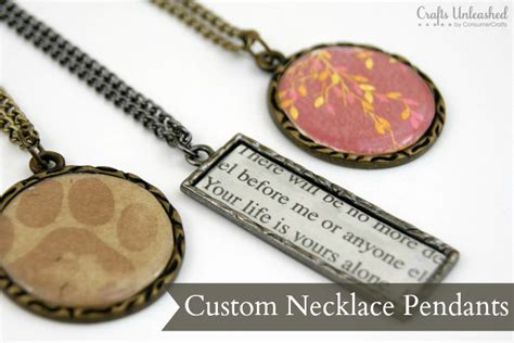 how to make personalized jewelry pendants for necklaces an easy step by step tutorial
