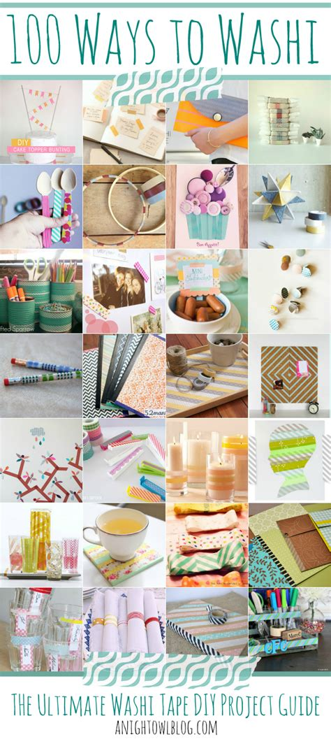 washi craft projects 100 ways to washi the ultimate washi projects guide