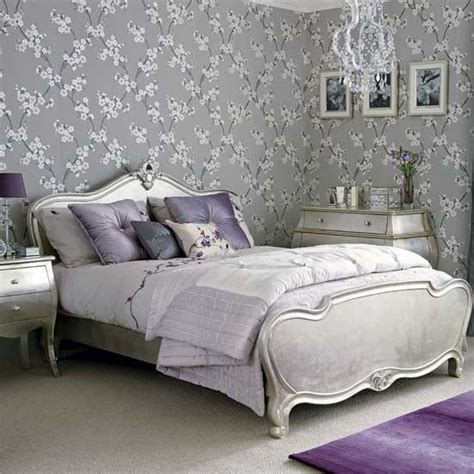 purple and silver bedroom glamorous silver bedroom hotel style bedrooms 10 of