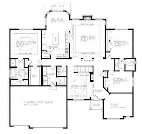 house plans with and bathrooms amazing ranch house plans with and bathroom new home plans design