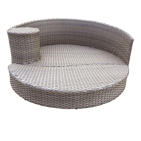 circular outdoor furniture harmony circular sun bed outdoor wicker patio furniture