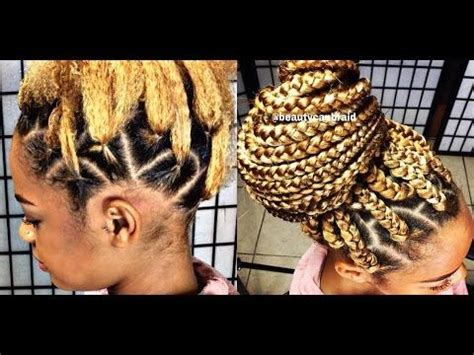 how to put on braids with rubber bands 25 best ideas about box braids tutorial on