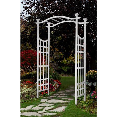 White Garden Arch Uk New Arbors White Garden Arbor Archway Arch Trellis