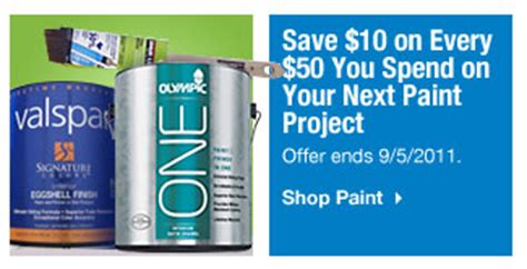 home depot paint sale labor day home depot and lowes paint rebates and deals labor day weekend