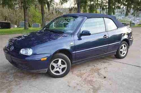 2000 Volkswagen Cabrio by Sell Used 2000 Volkswagen Cabrio Gls Convertible In