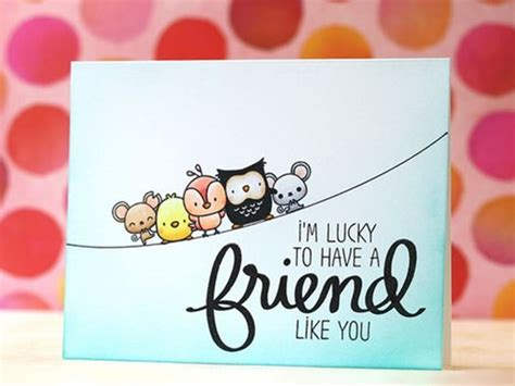 how to make friendship cards 40 friendship card designs diy ideas
