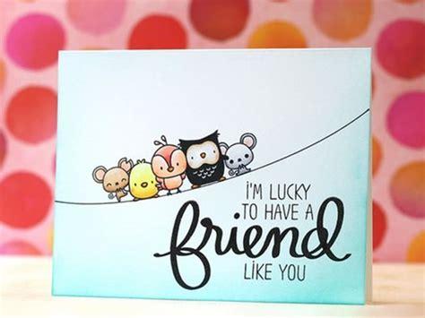 40 Friendship Card Designs Diy Ideas