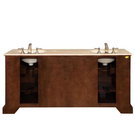 ivory ceramic kitchen sink 72 quot sink cabinet travertine top undermount ivory