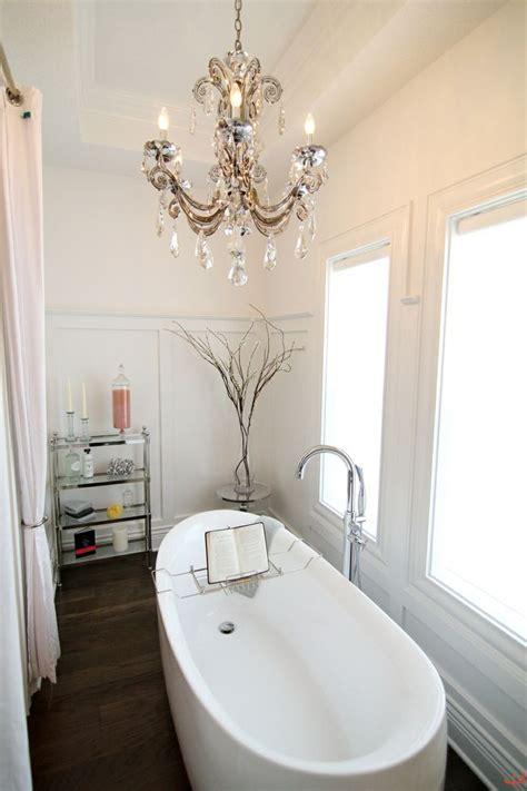 chandelier in the bathroom decor inspiration chandeliers in the bathroom yes