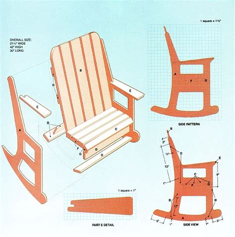 rocking woodworking plans 20130511 wood work